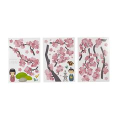 id e chambre kokeshi on pinterest stickers album and deco