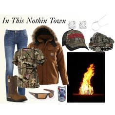 """Bonfire"" by country-girls-world on Polyvore"