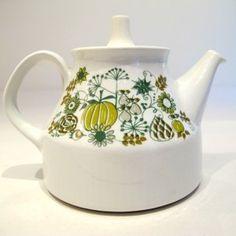 Figgjo Flint Teapot from Norway, 1970's