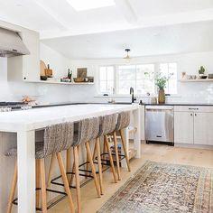 GroBartig Before And After: Inside Amber Interiorsu0027 Boho Chic Kitchen Renovation