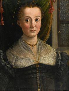 bedoli, girolamo mazzo     portrait - female     sotheby's n09460lot82qz5en Italian Renaissance Dress, 16th Century Clothing, Renaissance Portraits, Italian Women, Historical Clothing, Fashion History, Cool Artwork, Les Oeuvres, Gowns