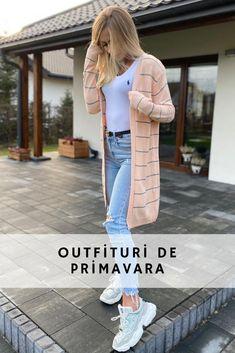 outfituri de primavara, Tinute de primavara PrettyModa.ro #prettymodaro #tinuta Cardigan Outfits, Smart Casual, Magazine, Elegant, Tricot, Classy, Magazines, Chic, Warehouse