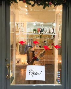 We're open!!  @Maisonmarina  #maisonmarina #maisonmarinagirona #maisonmarinateam #fashionbrand #fashioninspo #design #designlovers #madeinlocal #madeinspain #lovelystore #letsgotowork #fashionwork #fashionatelier #lovemyjob #girona #gironamenamora #costabravacool  #essence #esencia #pure #flowerlovers #flowerlover #boutique #lovelyboutique #lovelystore #moodboard #shooting #showcase #windows #christmaswindow