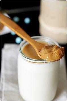 Yaourt de confiture de lait