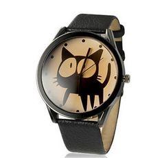 Black cat fashion quartz watch #bidforcharity #dogood #charityauction