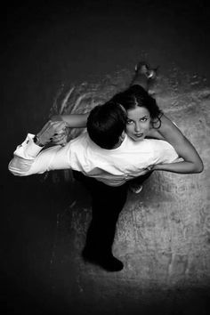 dance with me | romance | black & white | birds eye view |