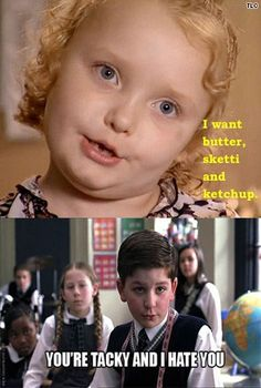 oh honey boo boo child…