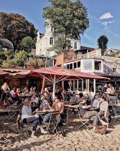 Sentado afuera en Hamburgo: agradables cafés y bares - Sitzen Sentado afuera en Hamburgo: donde es mejor cuando el sol brilla / perla en el Elba Imágenes - Restaurant Hamburg, Les Continents, City Break, Nightlife Travel, Culture Travel, Germany Travel, Asia Travel, Outdoor Travel, Elba