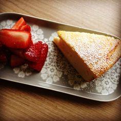 Ricotta Kuchen aus dem Airfryer