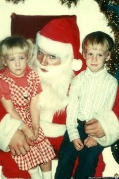 Why Mommy Why?? Creepy Santa Photos - http://www.cvltnation.com/mommy-creepy-santa-photos/