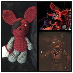 FNAF Foxy the Pirate Fox created by me (Charise Edwards) {My favorite}