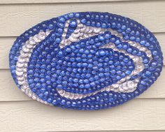 ***Item is currently not available - awaiting supplies/materials. Unknown when item will be available shipping***  464 bottle caps  25in x 16in x 1in  9.25 lbs.