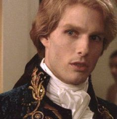 Tom Cruise as Lestat De Lioncourt in Interwiew With The Vampire