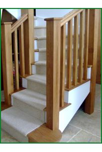 Rosebank Oak and Redwood Stairs
