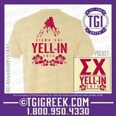 TGI Greek - Sigma Chi - Date Party - Greek T-shirts - Comfort Colors #tgigreek #sigmachi #dateparty