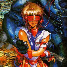 The Vault of Retro Sci-Fi — spaceshiprocket: Masamune Shirow Manga Anime, Old Anime, Anime Art, Character Art, Character Design, Masamune Shirow, Perspective Art, Ex Machina, Cyberpunk Art