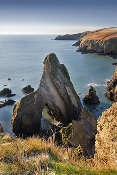 Novohal Cove in County Cork, Ireland (by snowboarding1979)