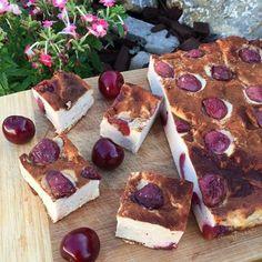 Éhezésmentes karcsúság Szafival - Cseresznyés-túrós-tejes pite
