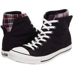 Converse Chuck Taylor® All Star® Dual Collar Hi ($55) ❤ liked on Polyvore