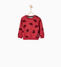 Hedgehog sweatshirt-SWEATSHIRTS-BABY BOY | 3 months-3 years-KIDS | ZARA United States