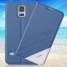 S5 Case Original Luxury Brand Flip Leather Phone Case For Samsung Galaxy S5 S6 Edge Plus S7 Edge Fashion Card Slot Wallet Cover