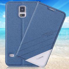 S5 case 원래 럭셔리 브랜드 플립 가죽 전화 case 대한 samsung galaxy s5 s6 edge plus s7 edge 패션 카드 슬롯 지갑 커버