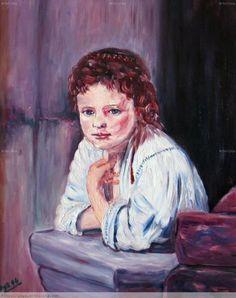 Mi niña en el balcón Anime, Painting, Art, Balconies, Poems, Paintings, Art Background, Painting Art, Kunst