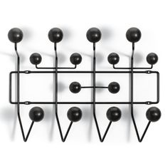 Hang it All Special Edition: Black Brand: Vitra Designer: Charles & Ray Eames