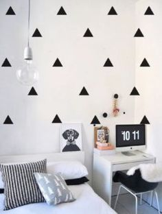 20 Creative Girls Bedroom Ideas for Your Child and Teenager Tumblr Bedroom, Tumblr Rooms, Wc Decoration, Girls Bedroom, Bedroom Decor, Bedroom Ideas, New Room, House Rooms, Interior Design