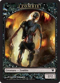 Zombie Token   Magic: The Gathering Card