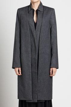 Iikonee oversized layered coat