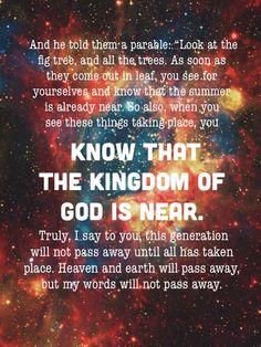 Luke 21:29-33 ESV