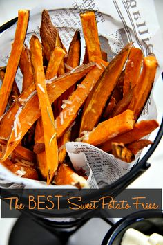 How to Make the Very Best Sweet Potato Fries