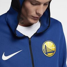 3613c05d198e1 Jaqueta Nike Golden State Warriors Therma Flex Showtime Masculina ...