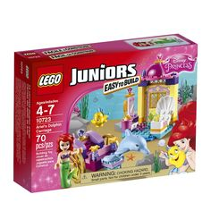 LEGO Juniors - Trasura cu Delfini a lui Ariel 10723 - Magazin Disney Lego Cupcakes, Best Electric Scooter, Lego Juniors, Classic Fairy Tales, Disney Princess Ariel, Buy Lego, Lego Disney, Construction, Lego Duplo