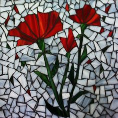 poppytray by Mosaics by Marlene, via Flickr