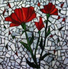 poppytray by Mosaics by Marlene, via Flickr