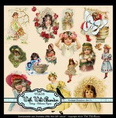 Printable Images of Vintage Children