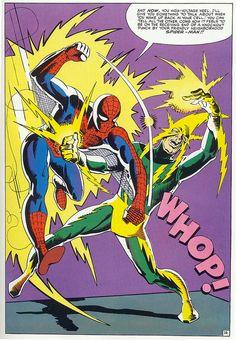 Spider Man Vs Elektro by Steve Ditko
