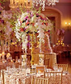 Wedding Reception Centerpiece Styles to Inspire Your Florals | Photo by: Jess + Nate Studios | TheKnot.com