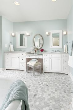 Seaglass bathroom