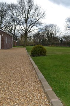 Most Popular Modern Driveway Paving Ideas and Layouts - front yard landscaping ideas with rocks