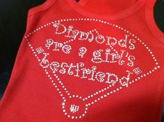 Baseball Diamond a girl's best friend perfect by StitchThisCustom, $24.00