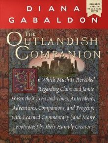 It is written: a beautifully illustrated compendium of all things Outlandish.  After four books a written road map is needed to keep a handle on all the twists and turns the Fraser clan takes through the years.