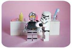 LEGO Star Wars stormtrooper homeworks too funny ~ Make it shine by designholic Lego Stormtrooper, Starwars Lego, Lego Star Wars, Amour Star Wars, Minions, Aniversario Star Wars, Figurine Lego, Lego Man, Lego Guys