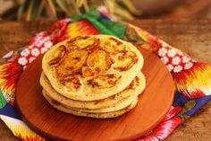 O blog Mel e Pimenta traz uma dica de panqueca linda e diferente para você preparar e fazer aquele café da manhã caprichado.
