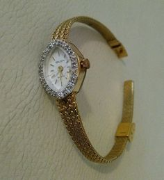 Precision by Gruen Diamond Accent Watch - Women oval  Face #PrecisionByGruen #Casual