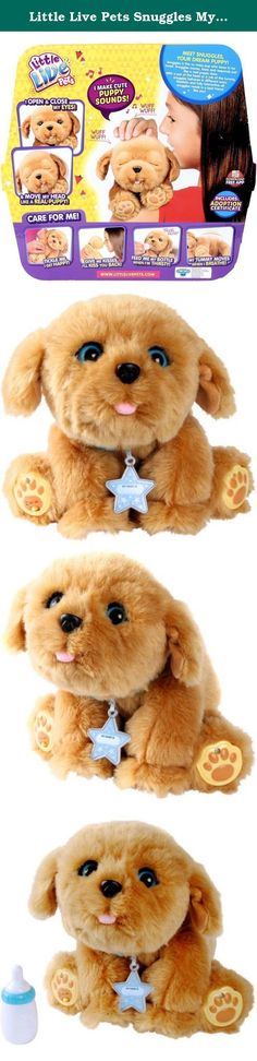 Little Live Pets Snuggles My Dream Puppy, 6.10 x 12.00 x 11.42 Inches. Little Live Pets Snuggles My Dream Puppy.