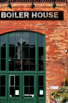 The Boiler House. Distillery District, Toronto.