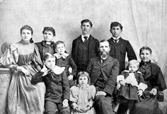 Florida Memory - Daniel Campbell family portrait, Walton County  c. 1895  Persons identified on Florida Memories website
